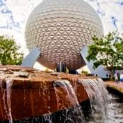 Spaceship Earth Fountain