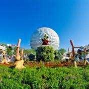 Epcot Flower & Garden Monorail Race