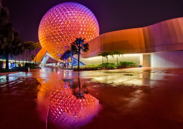 Spaceship Earth Reflection copy