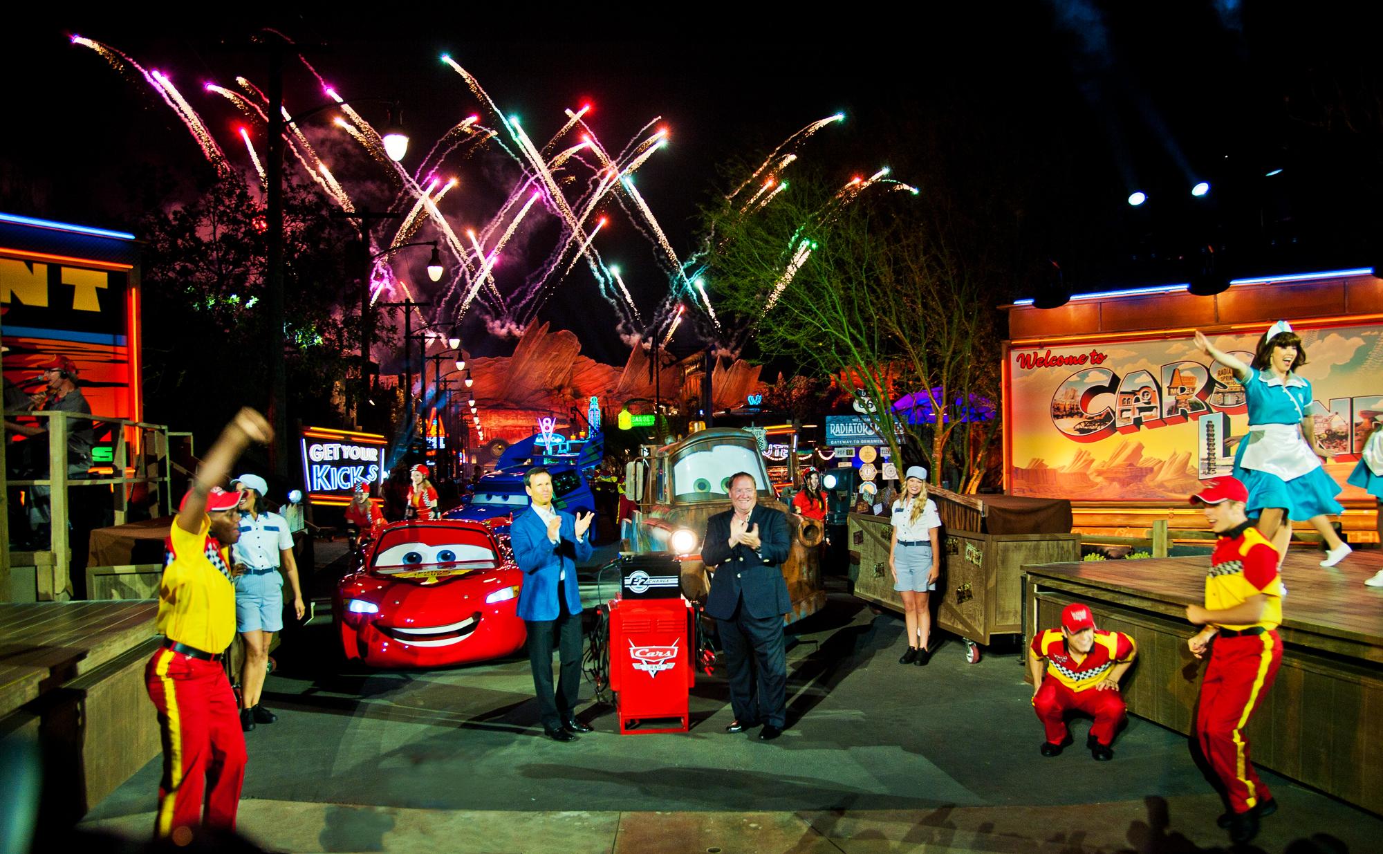 Cars Land Grand Opening Photo Disney Tourist Blog