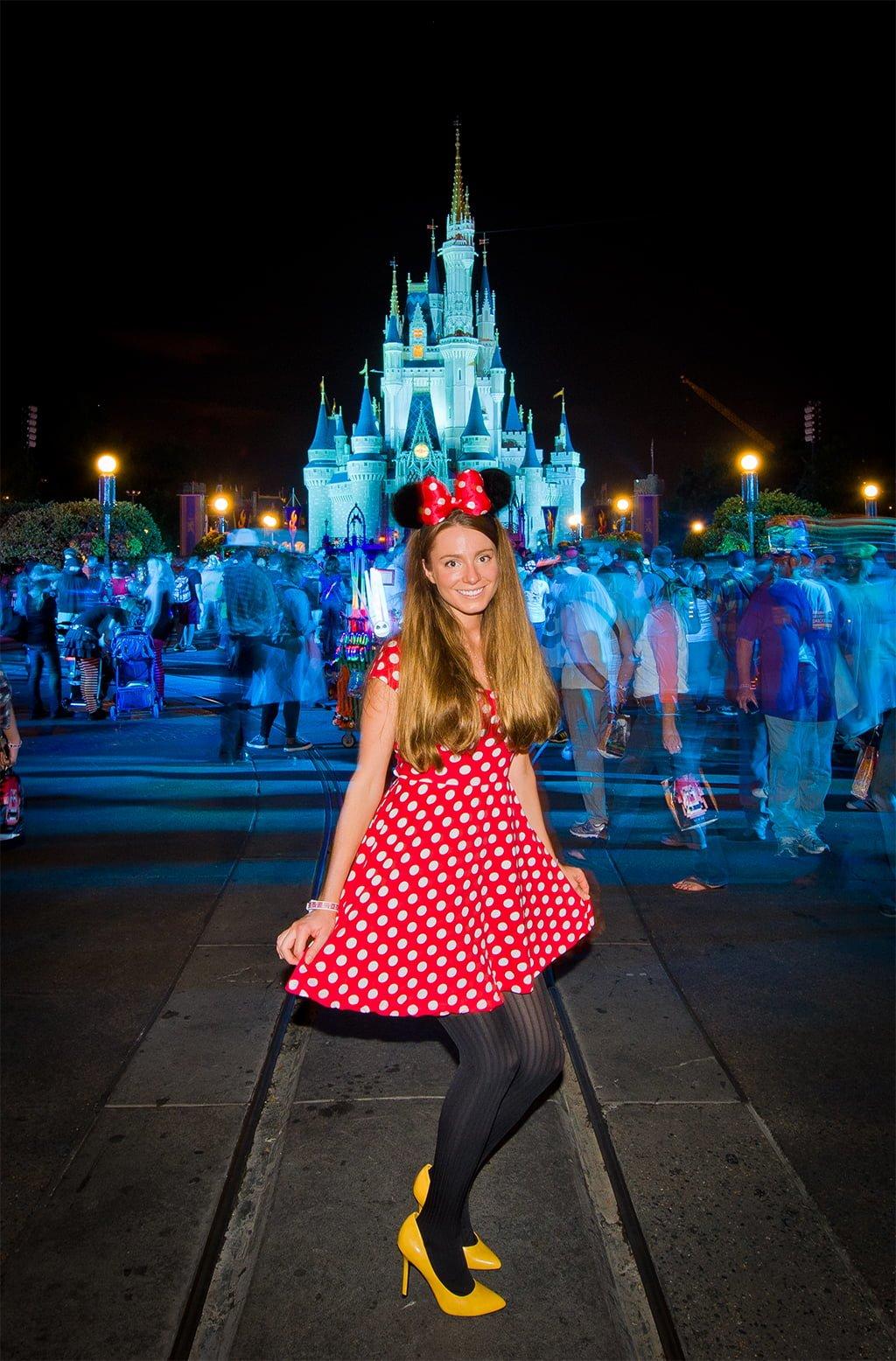 Minnie Mouse Light Shoes