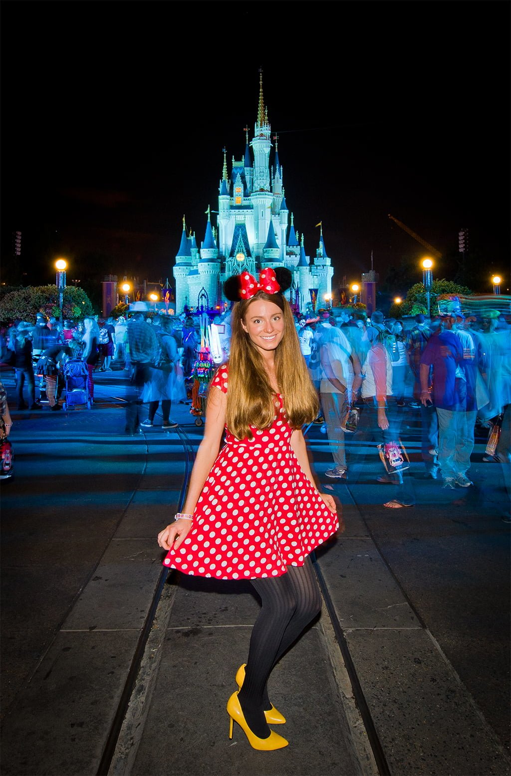 cute minnie mouse costume low cost and fun way to dress up for mickeys not sarahs costume for mickeys not so scary halloween party