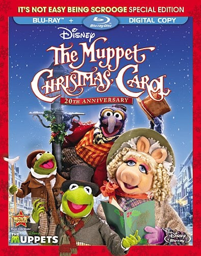 Muppet Christmas.The Muppet Christmas Carol Blu Ray Review Disney Tourist Blog