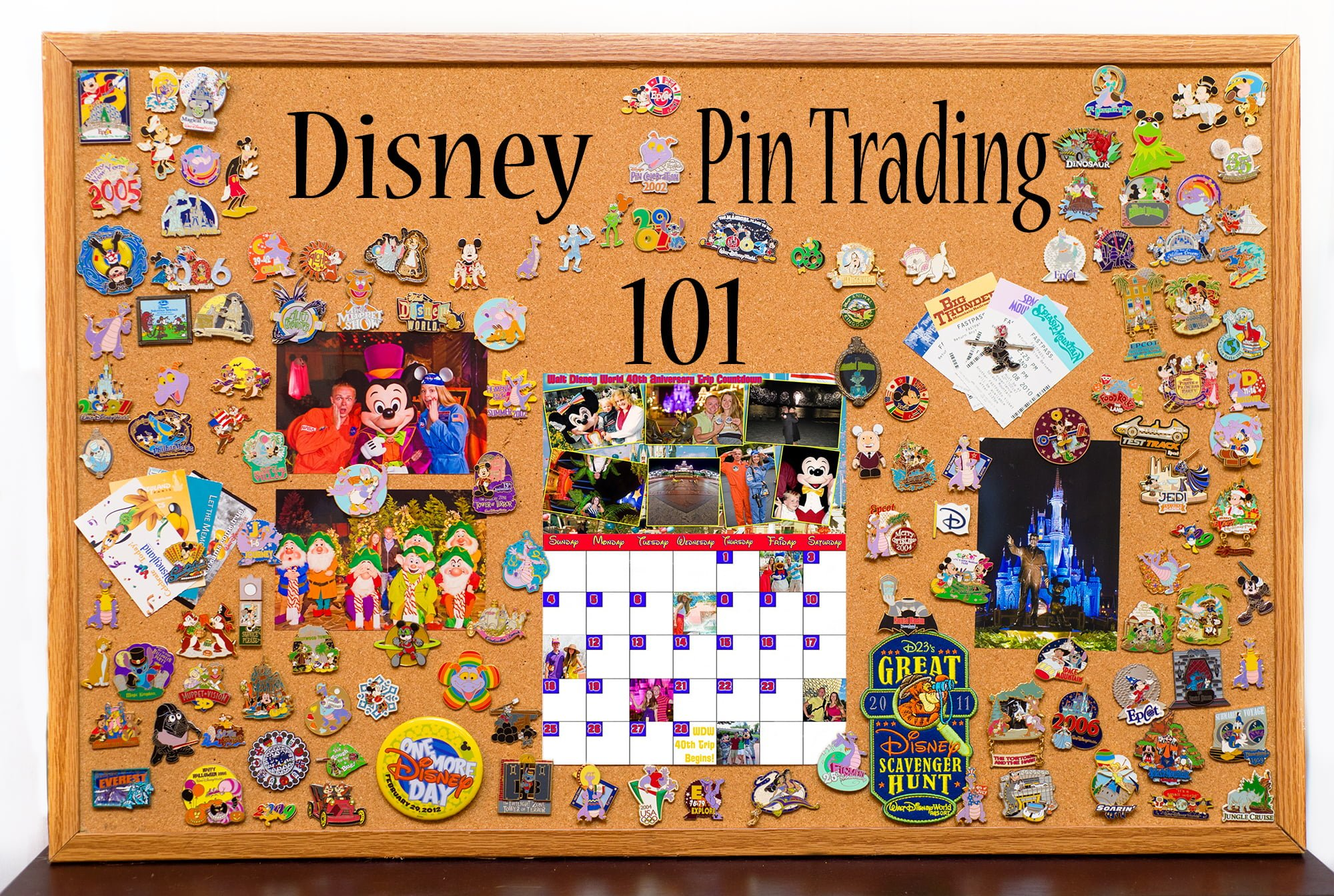 Pin Boards//Pro Show Display Pages