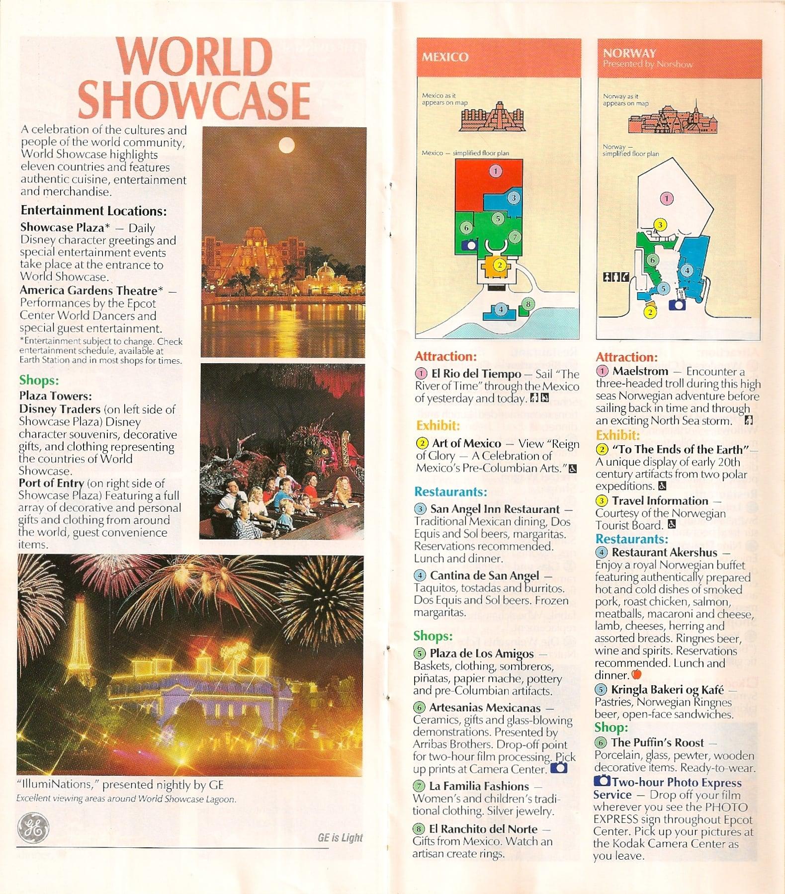 EPCOT Center Tickets & Maps - Disney Tourist Blog