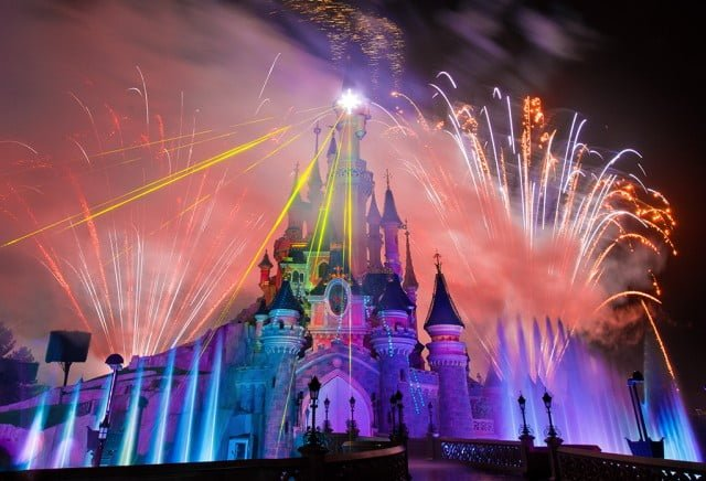 Disney Dreams Lasers Fountains Etc