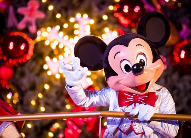 Mickey Mouse Tree Lighting