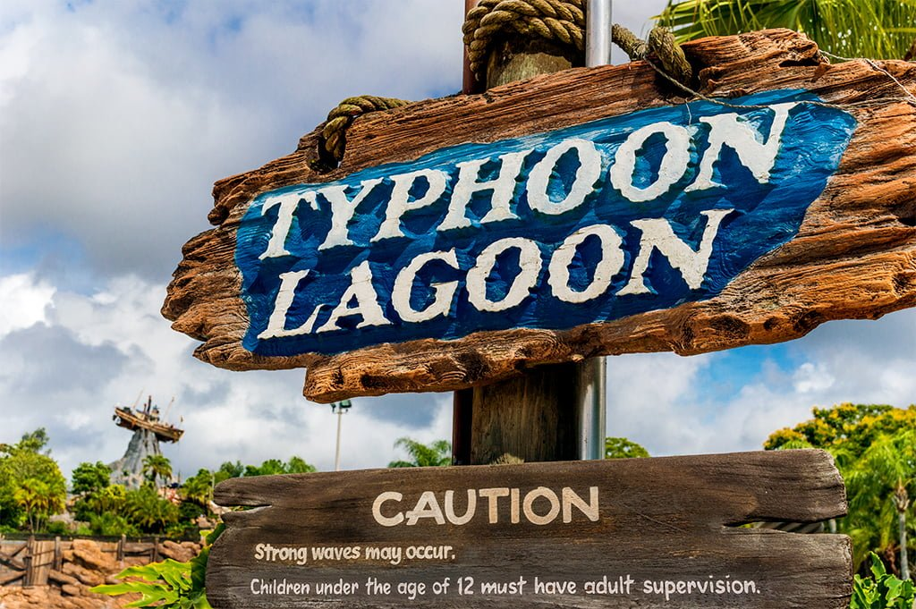 3913c15f77b28 This post provides tips & info for planning a visit to Typhoon Lagoon, a Walt  Disney World water park. It also helps you determine if it's worth it to  take ...