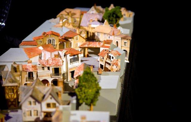 international-street-disneyland-model