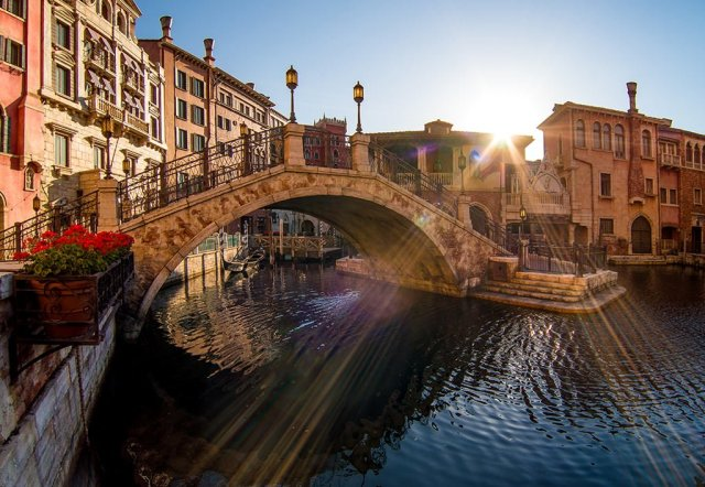 disneysea-venice-sunrise