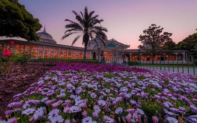 crystal-palace-dawn-tokyo-disneyland