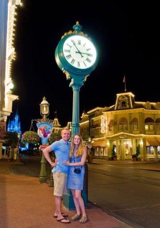 sarah-tom-bricker-main-street-disney-world-clock
