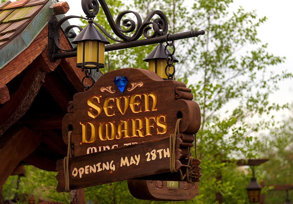 Seven Dwarfs Mine Train Review Disney Tourist Blog
