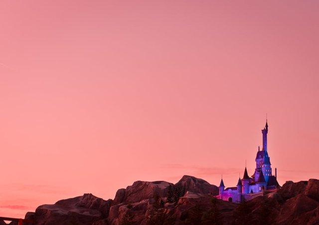 Beast-Castle-Sunset