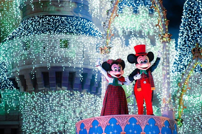 Mickey y Minnie en Magic Kindom