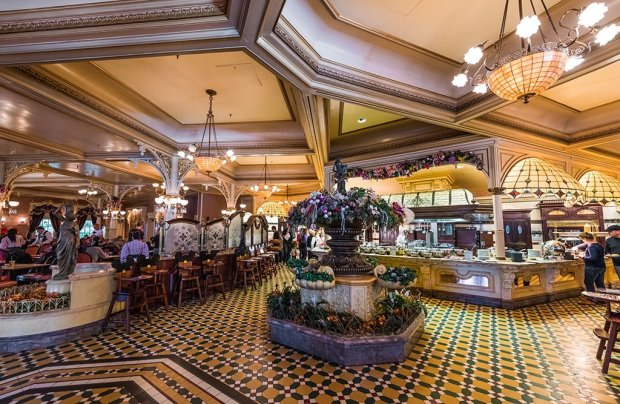 Plaza Gardens Restaurant Review Disney Tourist Blog
