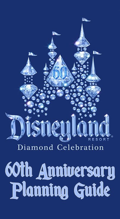 Disneyland 60th Anniversary Diamond Celebration Poster 1 Available in 5 Sizes