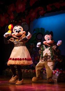 Mickey & Minnie' Polynesian Paradise - Disney
