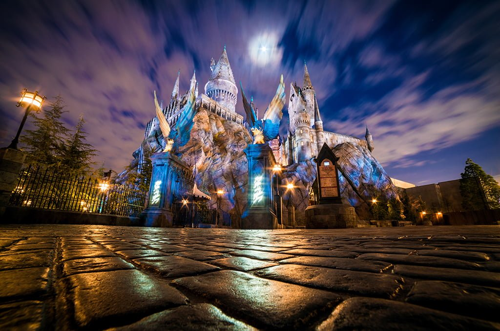 hogwarts castle pavers wizarding world harry potter universal