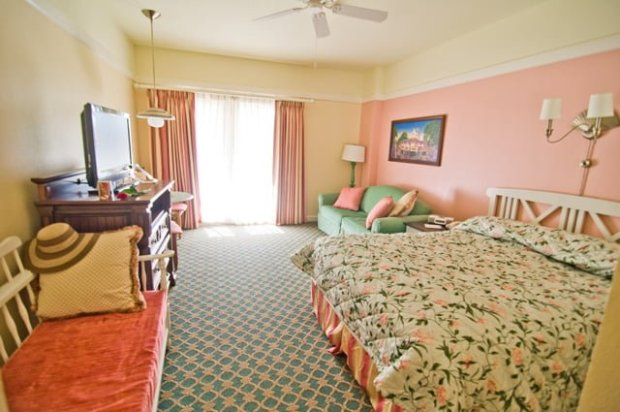 Disney Hotel Room Square Footage