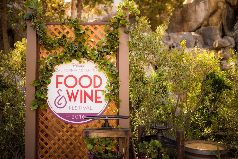 Dca Food And Wine Festival Menu