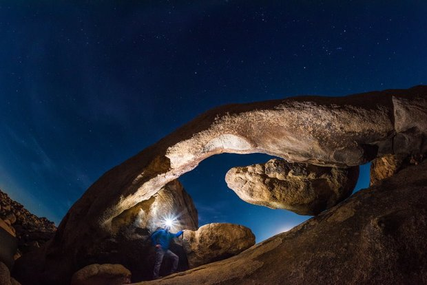 arch-rock-night-tom-bricker-selfie-joshua-tree-national-park copy