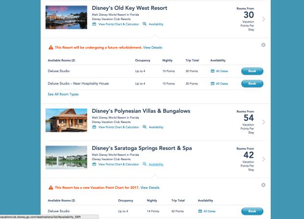 disney-vacation-club-resort-availability