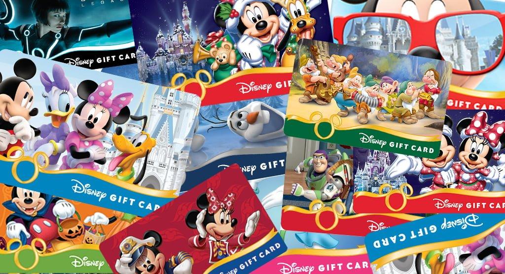 Tips for Saving Money on Disney Gift Cards - Disney Tourist Blog