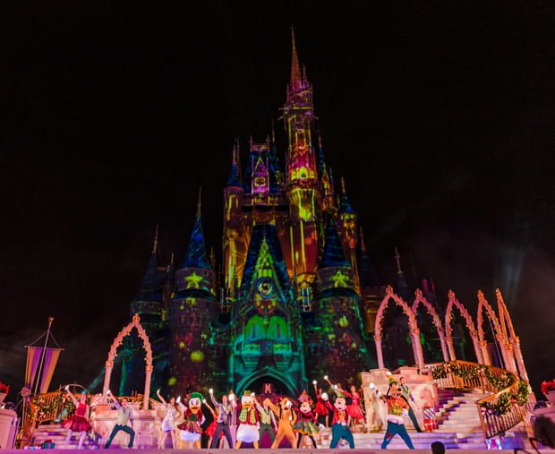 most merriest celebration mickeys very merry christmas party
