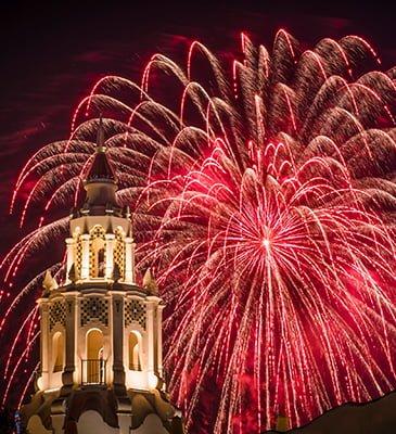 carthay-circle-fireworks