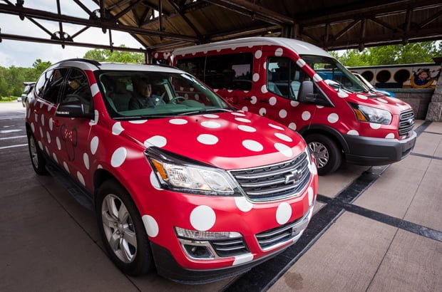 67df35ceba Minnie Vans are a new private vehicle service at Walt Disney World