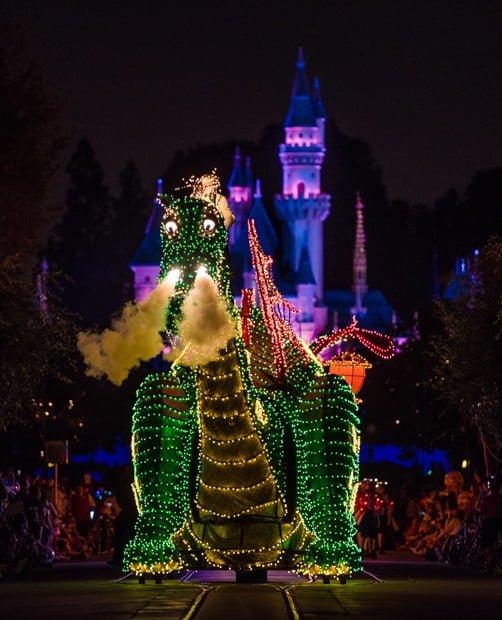 Main Street Electrical Parade at Disneyland - Disney Tourist