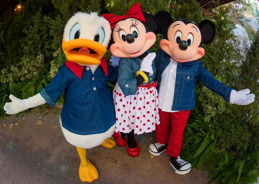 Talking donald minnie mickey mouse at dca disney tourist blog basically this group dynamic is much more conducive to a fun naturally flowing experience even the aspects that are totally scripted like teaching us m4hsunfo Images