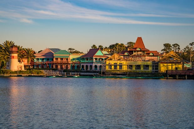 Disney S Caribbean Beach Resort 2018 Construction Update