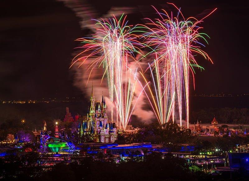 Best Restaurants For Magic Kingdom Fireworks Views Disney