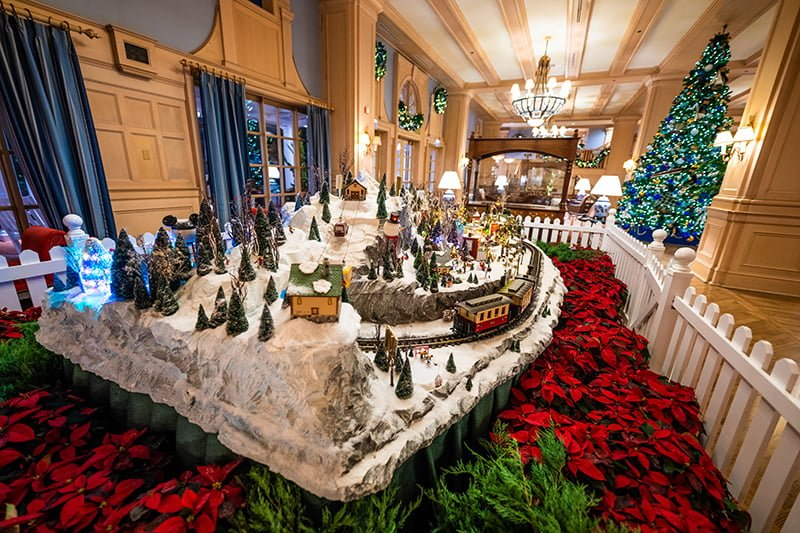 Disney World Resort Christmas Decorations Tour - Disney ...