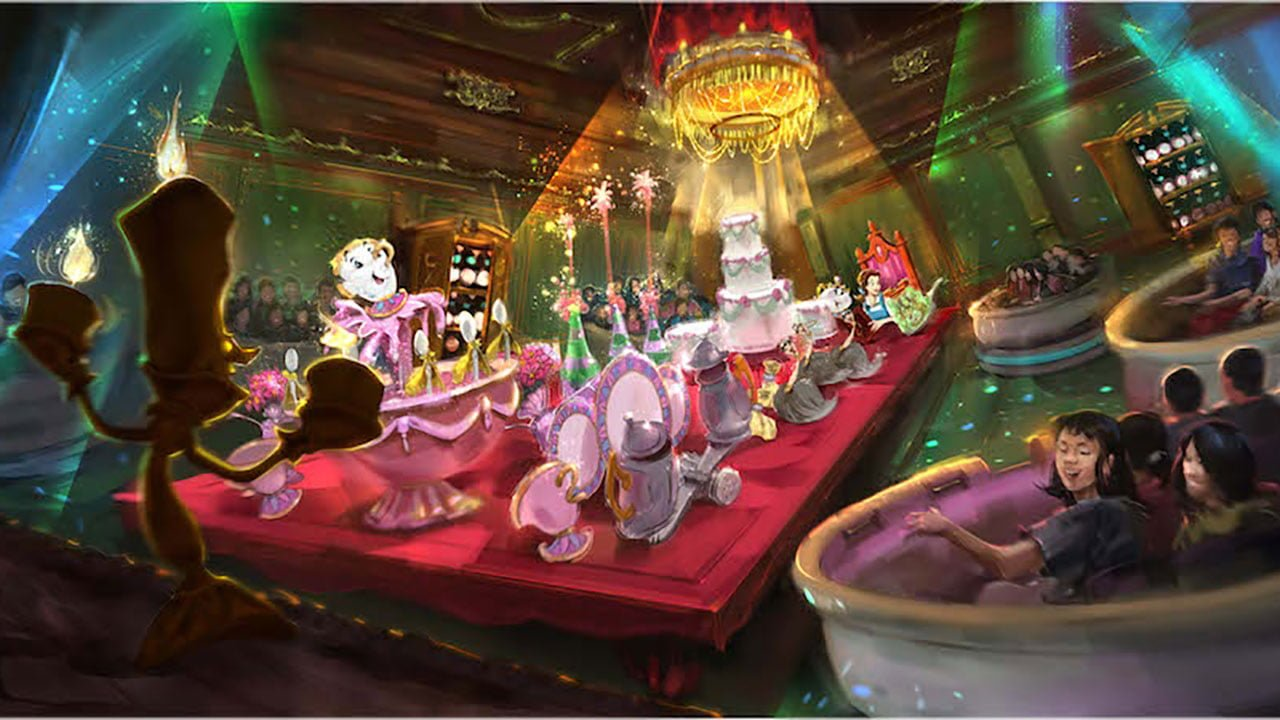 Inside The New Mega E Ticket Ride Enchanted Tale Of Beauty And The Beast Disney Tourist Blog