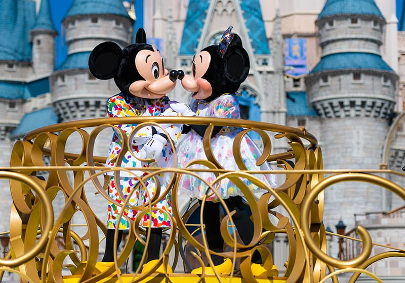 New Minnie Amp Mickey Mouse Surprise Celebration In Magic