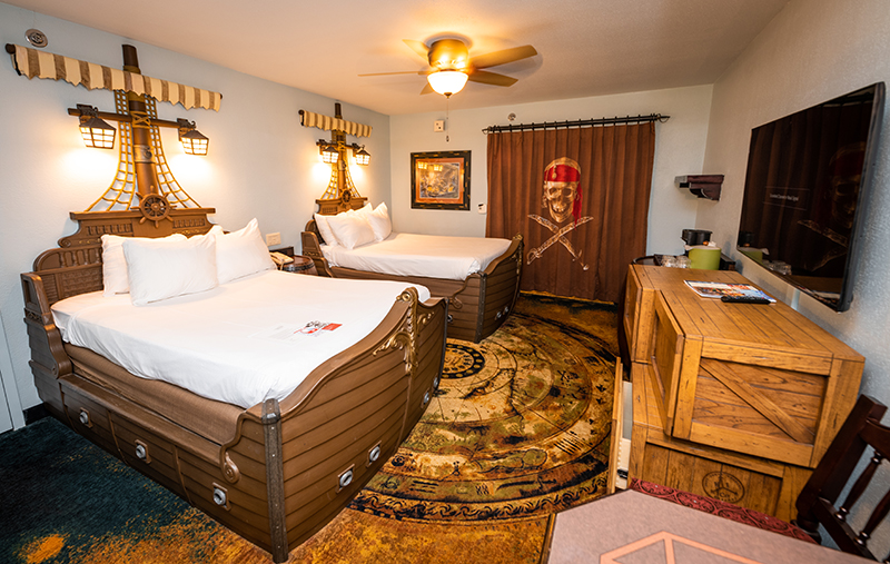 Image result for pirate room at caribbean beach resort