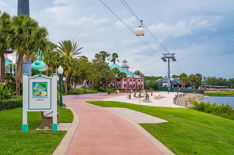 Caribbean Beach Resort Update