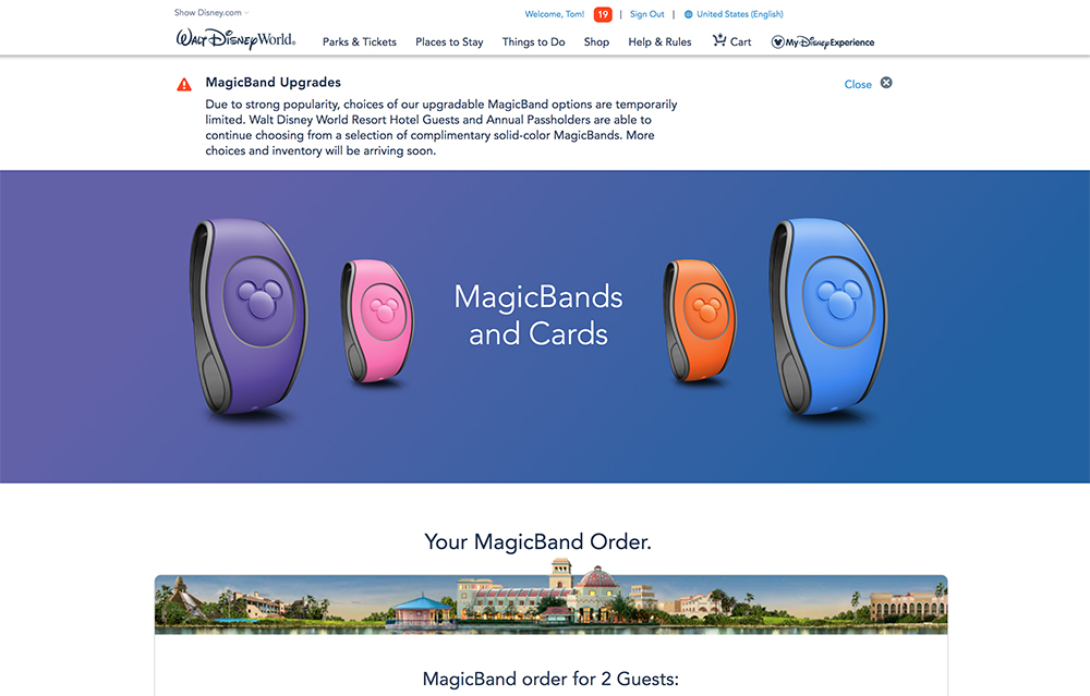 0058d12abee MagicBand Upgrades Now Available (Again!) - Disney Tourist Blog