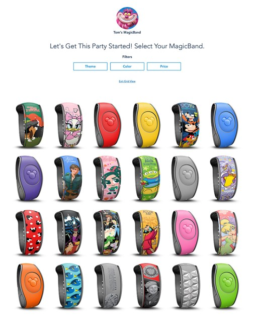 MagicBand Upgrades Now Available (Back in Stock: Star Wars
