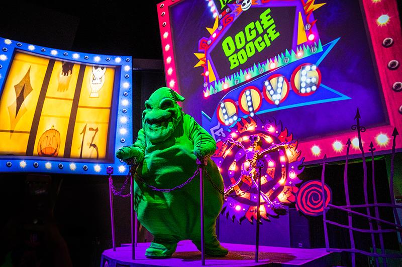 Photos & Report: Oogie Boogie Bash Halloween Party - Disney ...