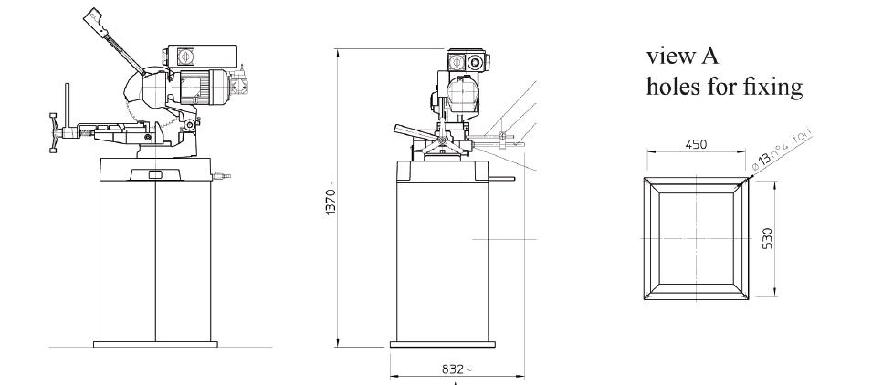 Tronzadora manual portátil FC 250