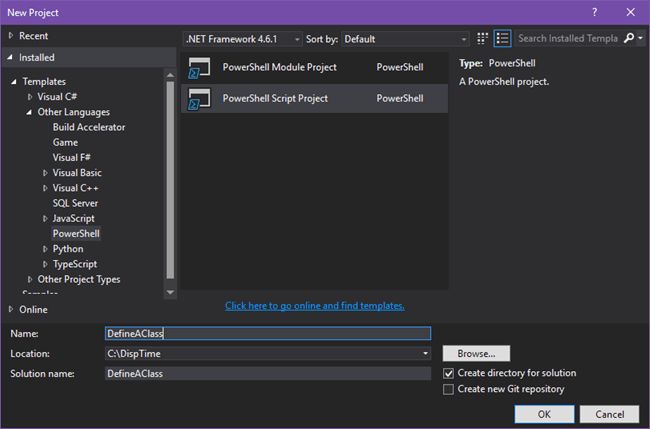 How to Define Classes in PowerShell – Threading DispatcherTimer