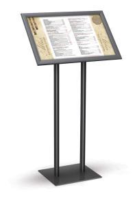 Angled SnapFrame Pedestal Stands Double Pedestal Base ...
