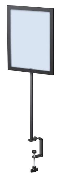 Clamp Base Framettes | Tabletop Sign Holders | Display Aisle