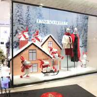 Fiberglass Deer Retail Christmas Window Displays | DM ...