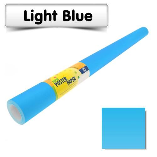 light blue poster paper