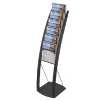 Floor Standing Magazine Display Rack,Magazine Display Rack
